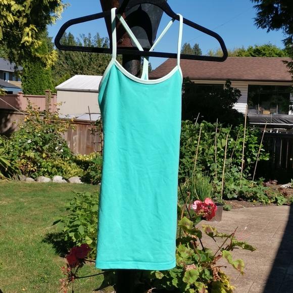 Lululemon Green Yoga Top